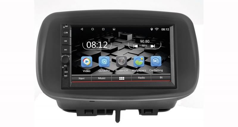 "Un autoradio Android ""plug and play"" pour les Smart Fortwo et Forfour"