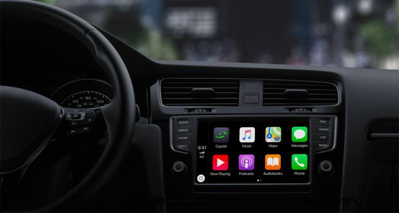 Coyote sera prochainement compatible avec le CarPlay