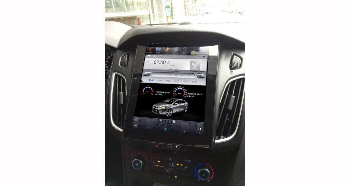 Belsee propose un autoradio Android façon tablette Tesla pour la Ford Focus