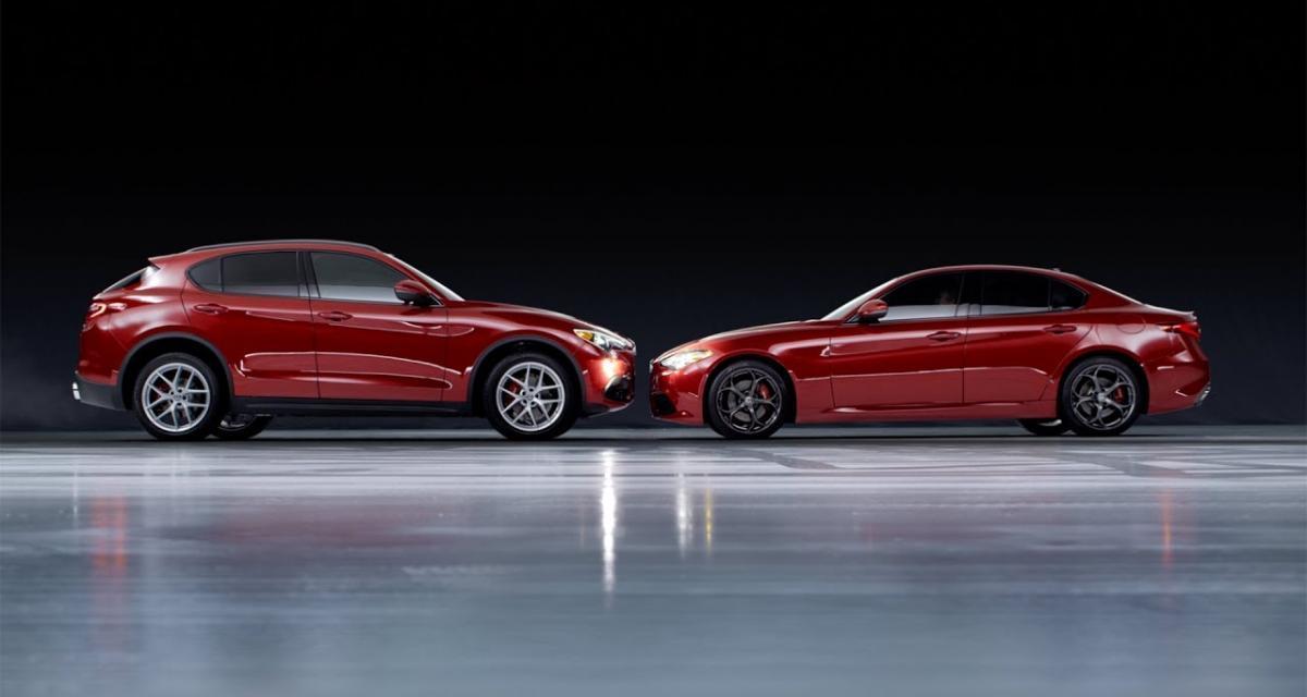 Alfa Romeo Giulia et Stelvio : Summer Sport Edition pour l'été