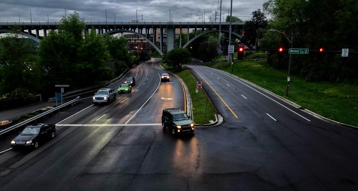 A contresens sur l'autoroute pendant 10 km et de nuit