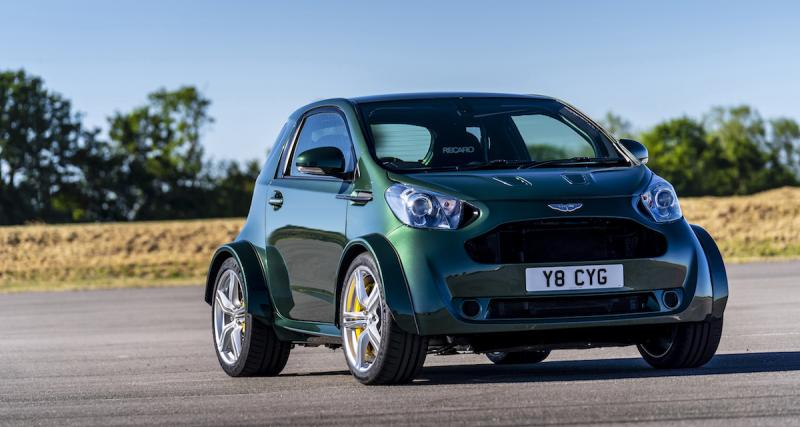 Aston Martin Cygnet V8 : les photos officielles du concept