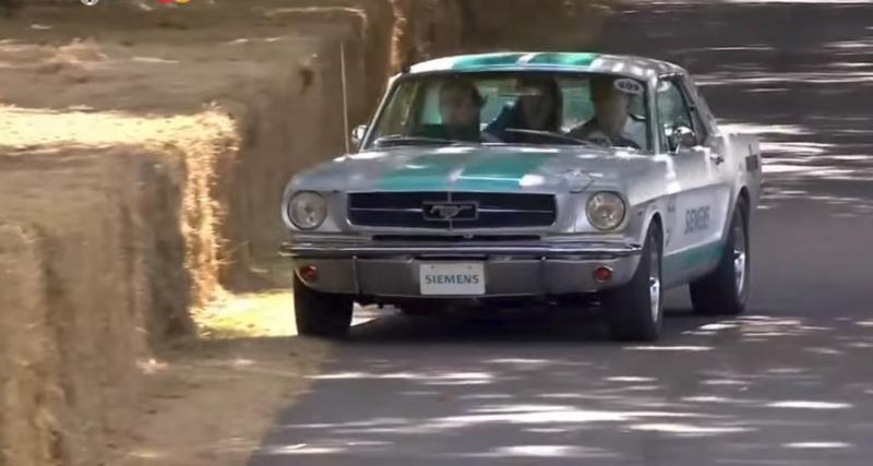 Vidéo : la montée catastrophique d'une voiture autonome à Goodwood
