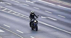 Flashé à 248 km/h au guidon se sa moto sur une départementale