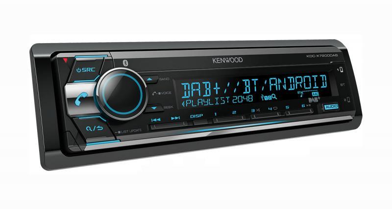 Avec le KDC-X7200DAB, Kenwood propose un autoradio très complet à un prix attractif