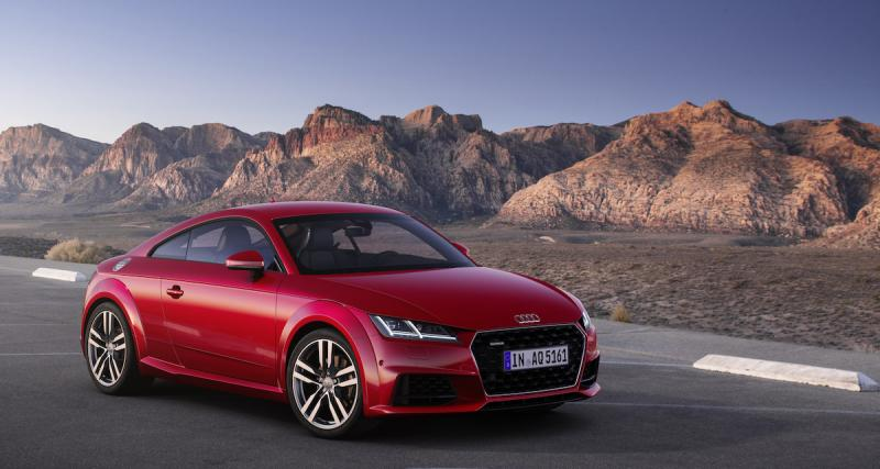 Audi TT restylée 2018 : les photos officielles de la version Coupé