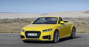 Audi TT restylée 2018 : les photos officielles du Roadster