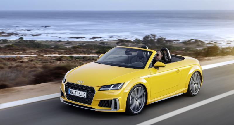 Audi TT restylée: le 2.0 TFSI passe à 245 chevaux