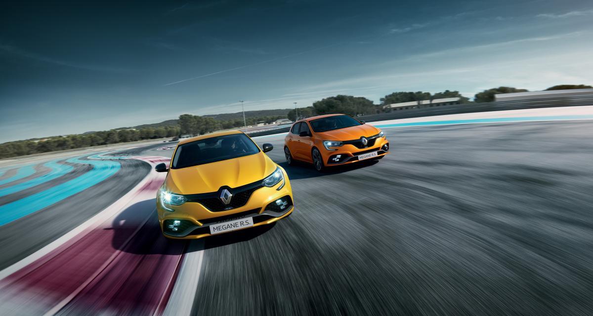 Renault Mégane RS Trophy : les photos officielles de la compacte sportive