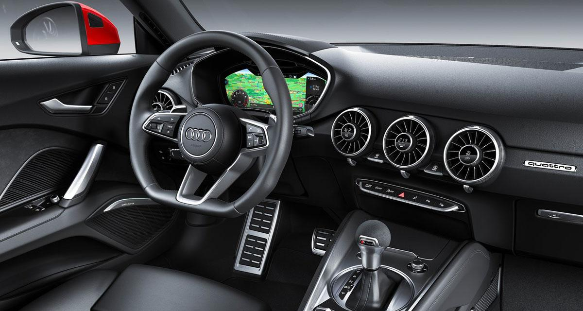 audi tt 2019 virtual cockpit. Black Bedroom Furniture Sets. Home Design Ideas