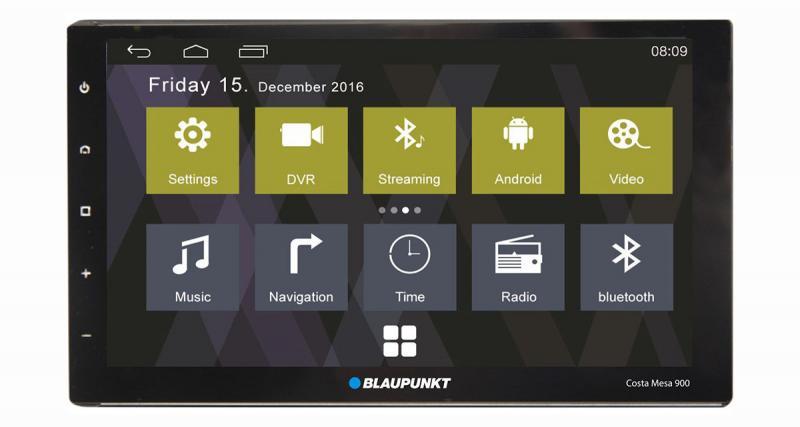 Blaupunkt dévoile un nouveau combiné 2 DIN Android sur le marché asiatique