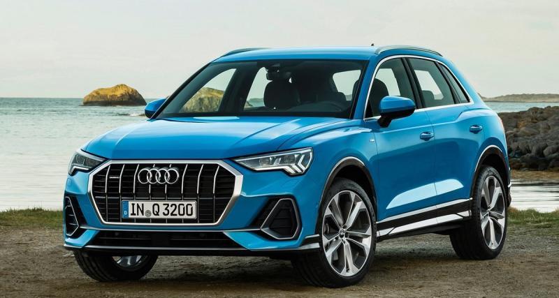 Audi Q3 2019 : toutes les photos officielles