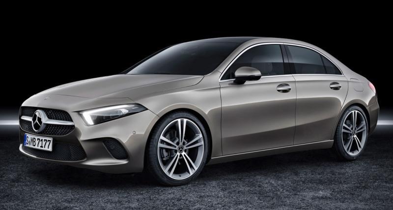 Mercedes Classe A Berline(2019) : du style et un coffre