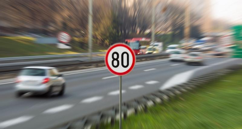 Vitesse limitée à 80 km/h : les radars ont flashé trois fois plus