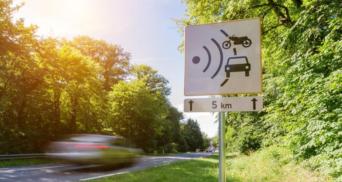 Flashé à 167 km/h sur une route limitée à 80 km/h