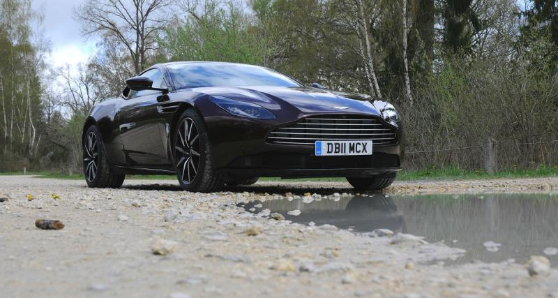Essai Aston Martin DB11 V8: un choix de raison?