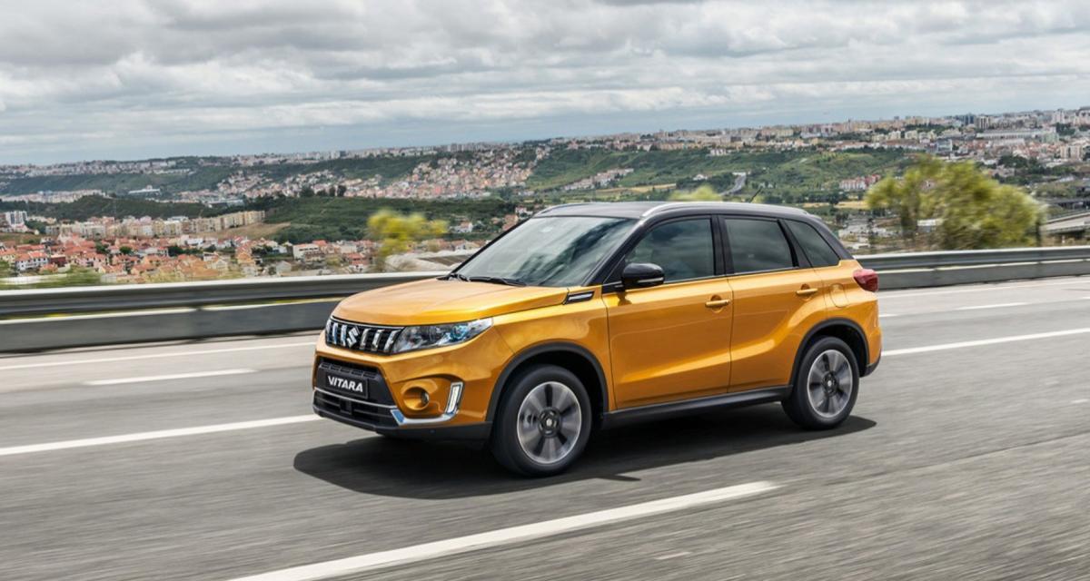 Suzuki Vitara (2019) : upgrade pour le Mondial de l'Auto