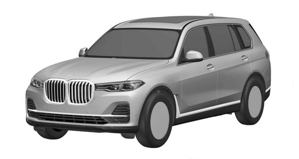 BMW X7 : 1ères images du modèle de série