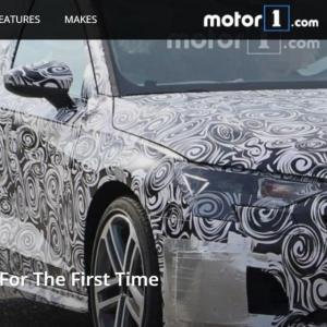 La future Audi A3 se montre bien avant l'heure