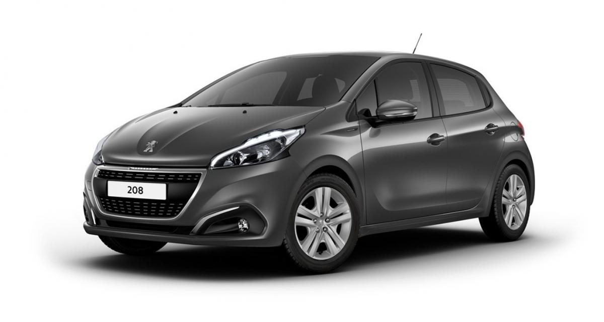 peugeot 208 signature infos et prix. Black Bedroom Furniture Sets. Home Design Ideas