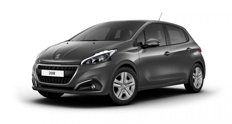 Peugeot lance la 208 Signature