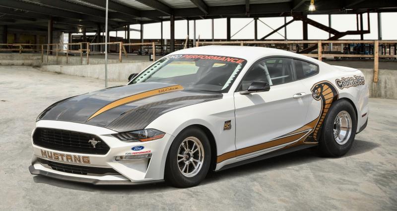 Ford dévoile la plus rapide et la plus chère des Mustang