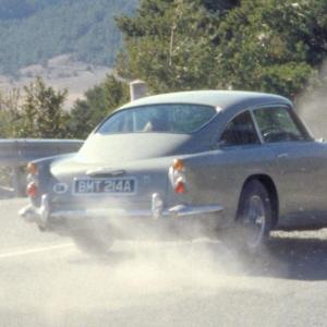 Aston Martin va produire la DB5 Goldfinger en petite série