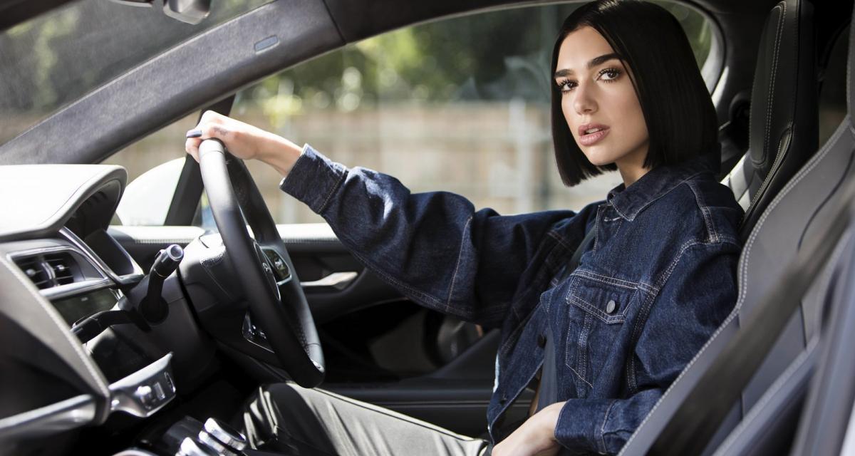 La chanteuse Dua Lipa devient ambassadrice Jaguar
