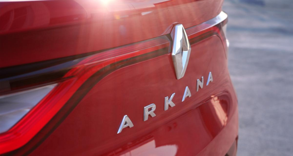Renault Arkana : 1ère image du SUV coupé au losange