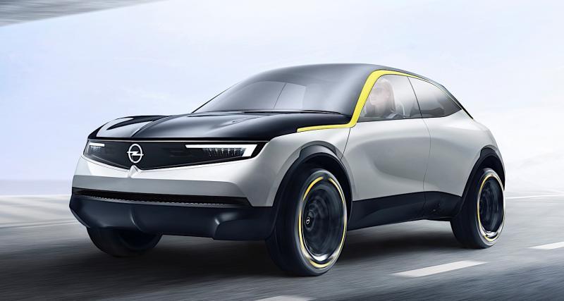 Opel GT X Experimental : la GT haut perchée