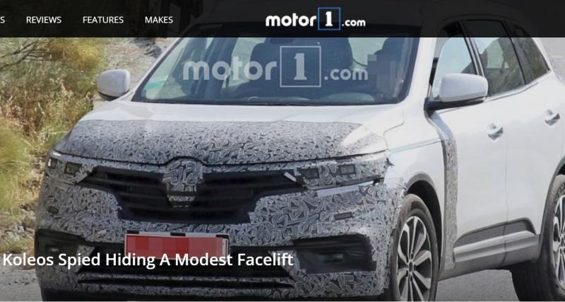 Le Renault Koleos 2019 en petite tenue