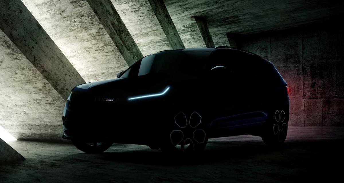 Le Skoda Kodiaq RS présenté au Mondial de l'Auto
