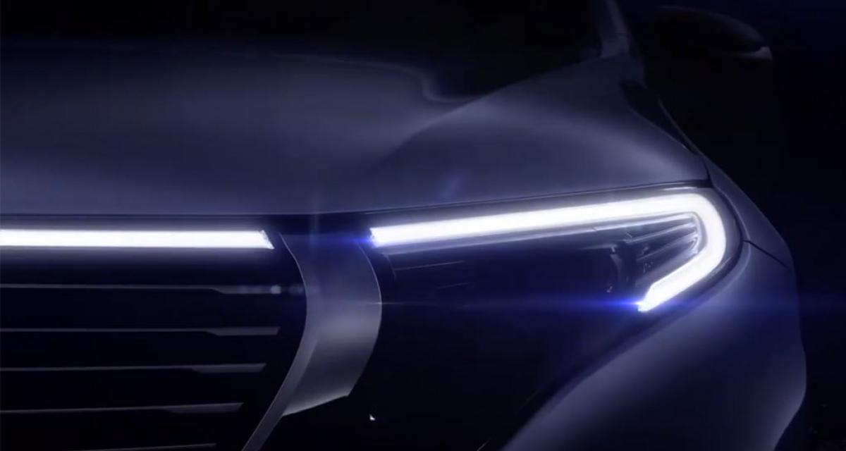 Un nouveau regard pour le Mercedes EQC