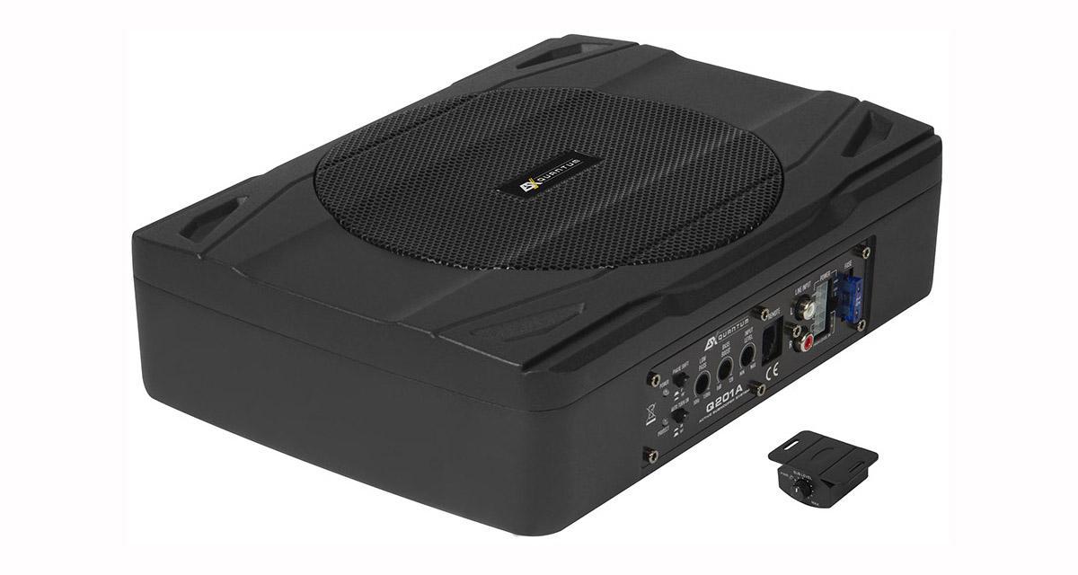 ESX commercialise un nouveau caisson de grave très compact