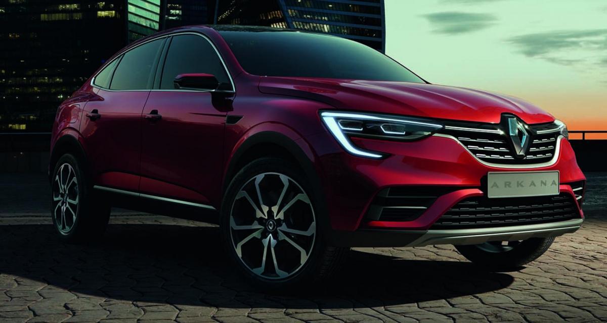 Le Renault Arkana se dévoile au grand jour