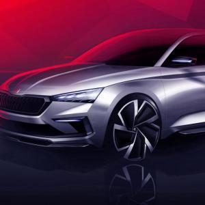 Skoda Vision RS : un aperçu de la Rapid au Mondial de l'Auto ?