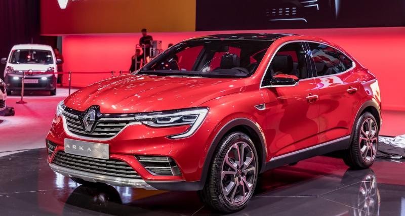 Le Renault Arkana dévoilé au salon de Moscou, les photos officielles