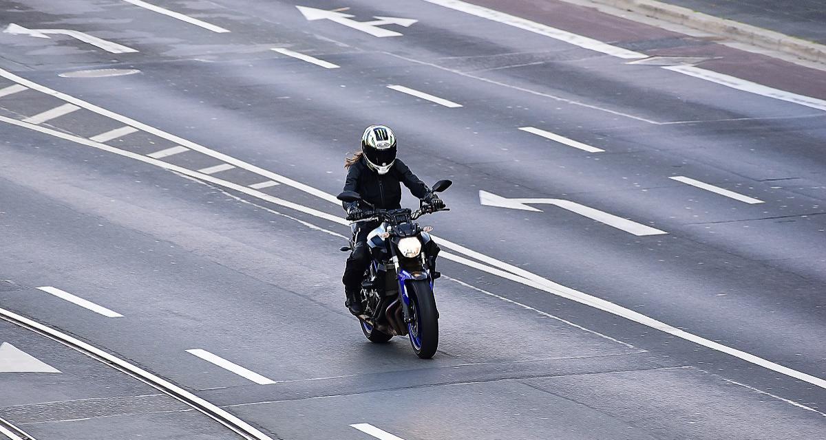 Un motard de 60 ans flashé à 205 km/h