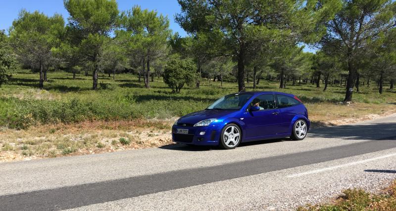 À la redécouverte de la Ford Focus RSMK1