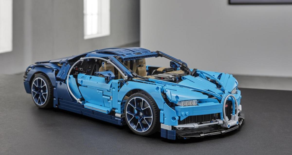 LEGO : une Bugatti Chiron pour moins de 400€
