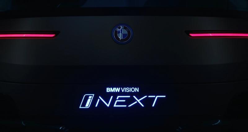 BMW Vision iNEXT: le SUV autonome allemand en vidéo
