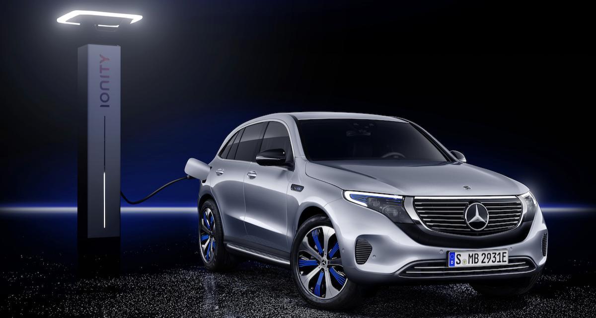 Mercedes EQC: le SUV électrique en 5 points