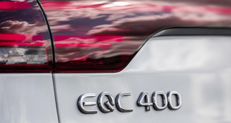 Mercedes EQC : les photos officielles du SUV 100% électrique