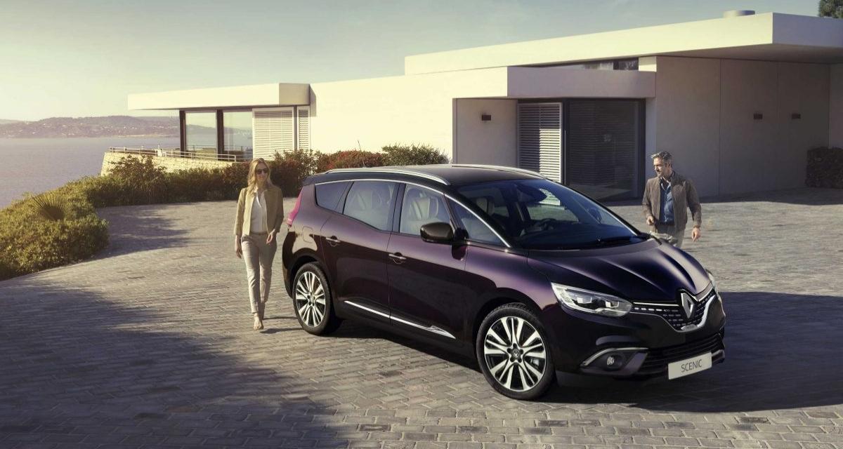 Le Renault Scénic gagne 2 nouveaux Diesel Blue dCi