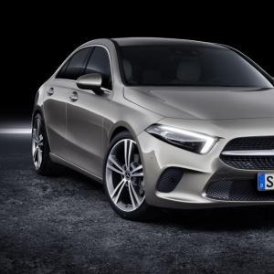 Mercedes Classe A Berline : les tarifs avant le Mondial