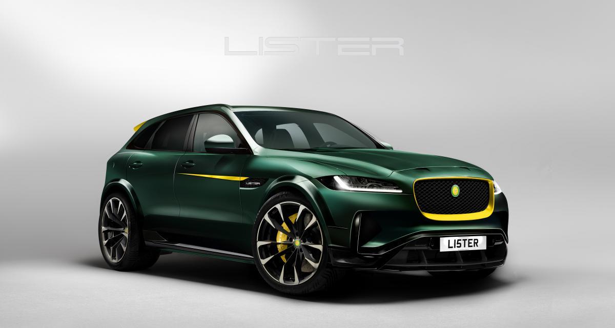 Lister fait du Jaguar F-Pace le SUV le plus rapide au monde