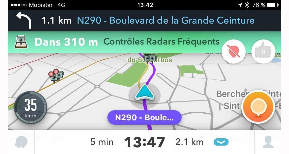 Waze renouvelle son partenariat avec GMF pour les messages de sécurité routière