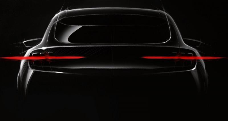 Ford tease le SUV électrique façon Mustang