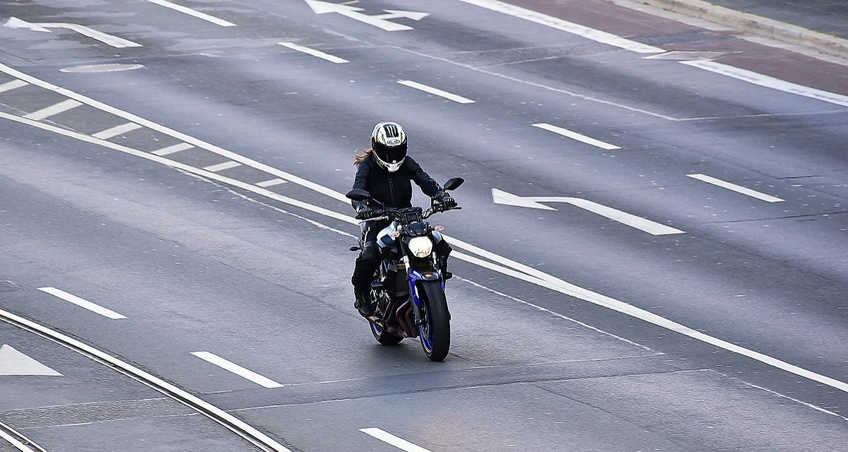 Flashé à 230 km/h à moto