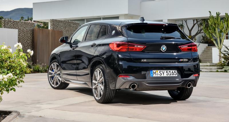 BMW offre le traitement M à son X2